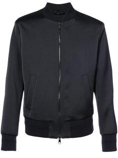 куртка-бомбер  с абстрактным принтом на спине Neil Barrett