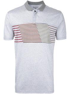 рубашка-поло с панелями в полоску Lanvin