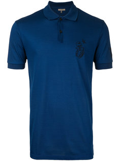 рубашка-поло с вышитым логотипом Lanvin