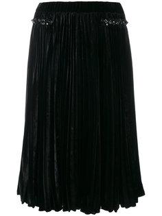 плиссированная расклешенная юбка Nº21
