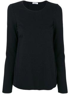 блузка с открытой спиной  Dondup