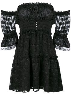 платье с открытыми плечами Modern Love For Love And Lemons