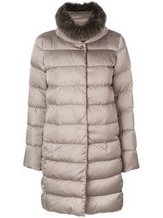 классическое пальто-пуховик Herno