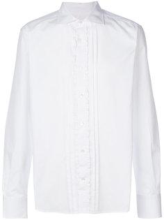 рубашка с отделкой рюшами Ermanno Scervino