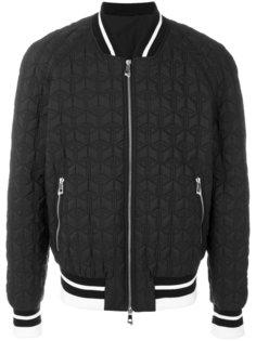 стеганая куртка-бомбер Versace