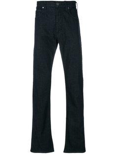 слегка расклешенные джинсы свободного кроя Armani Jeans