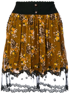 юбка с цветочным принтом  Coach