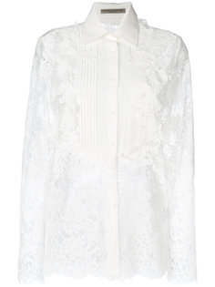 кружевная рубашка Ermanno Scervino
