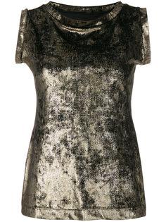 блузка без рукавов с круглым вырезом Antonio Marras