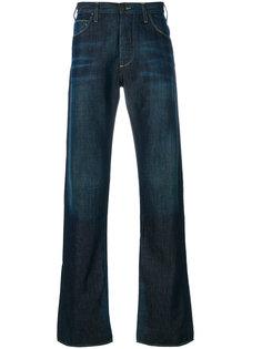 джинсы с контрастной строчкой Armani Jeans