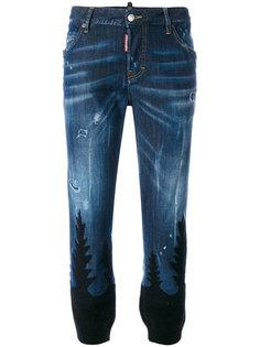 джинсы с принтом Cool Girl Dsquared2