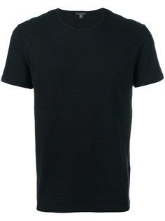 однотонная футболка John Varvatos