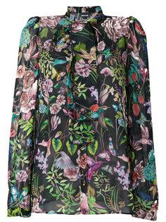 блузка с завязкой на бант  Just Cavalli