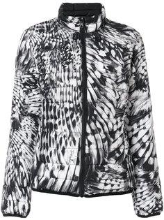 куртка-бомбер с принтом Just Cavalli