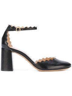 туфли с ремешком на щиколотке Lauren Chloé