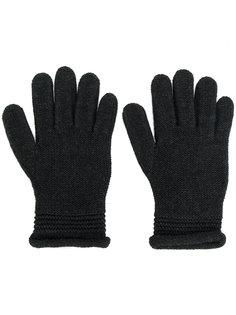 перчатки с логотипом Armani Jeans