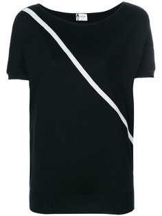 футболка с полоской Lanvin