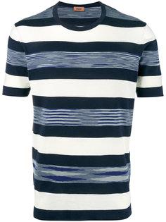 футболка с тканым полосатым узором Missoni