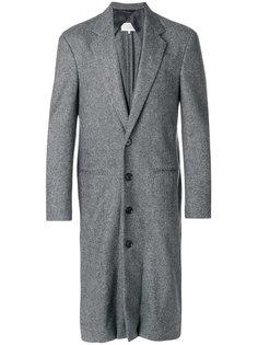многослойное удлиненное пальто Maison Margiela