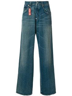 широкие джинсы Armani Jeans