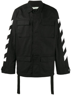 куртка с полосками Off-White