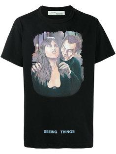 футболка с принтом Vampire Off-White
