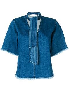 джинсовая блузка See By Chloé
