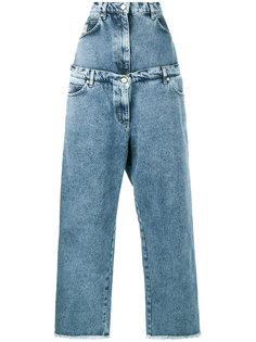 многослойные широкие джинсы Natasha Zinko