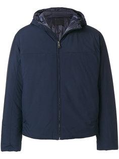стеганая приталенная куртка Prada