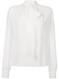 блузка с завязками на шее Giambattista Valli