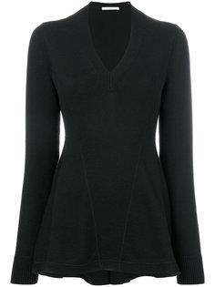 расклешенный вязаный свитер Givenchy