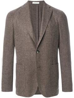 твидовый пиджак с застежкой на две пуговицы Boglioli
