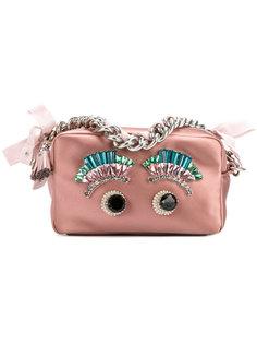 сумка на цепочке Eyes Anya Hindmarch