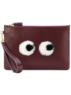 клатч Eyes Anya Hindmarch