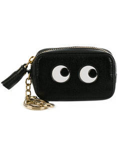 кошелек с глазами Anya Hindmarch