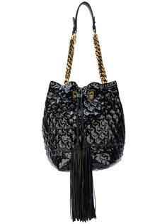 текстурированная сумка на плечо Ermanno Scervino