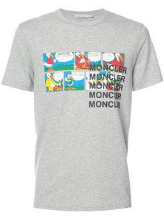 футболка с комиксом Moncler
