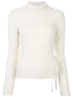 свитер с завязкой на боку Dondup