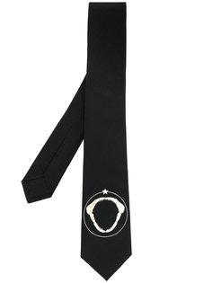 галстук с изображением челюсти акулы Givenchy
