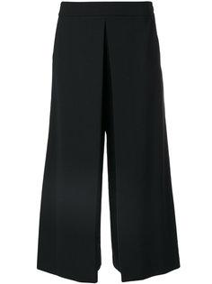 брюки с завышенной талией и складками Alexander Wang