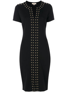 платье с металлическими заклепками  Michael Michael Kors
