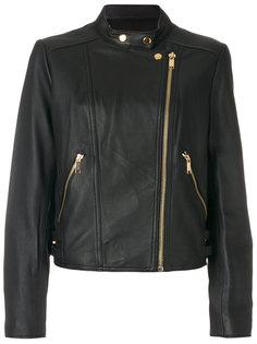 кожаная байкерская куртка  Michael Michael Kors