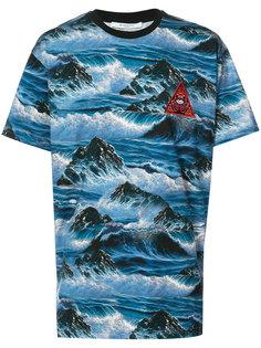 футболка с принтом волн Givenchy