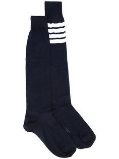 носки с полосатой отделкой Thom Browne