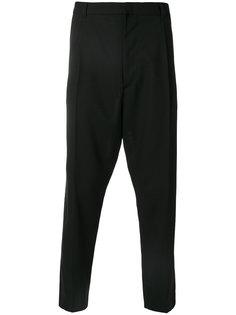 брюки с заниженным шаговым швом Ann Demeulemeester Grise