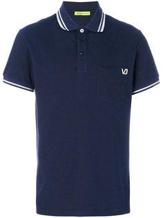 футболка-поло с вышивкой  Versace Jeans