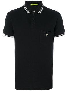 рубашка-поло с накладным карманом Versace Jeans