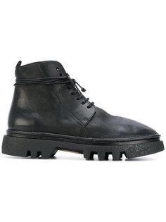 """ботинки в стиле """"милитари"""" на массивной подошве Marsèll"""
