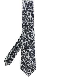 галстук с жаккардовым узором Issey Miyake