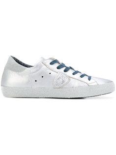 блестящие кроссовки Philippe Model
